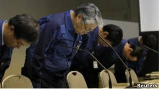 Руководство компании TEPCO извиняется