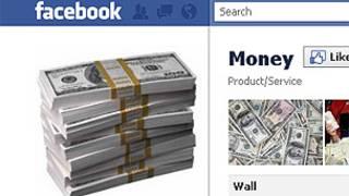 Página de fans del dinero en Facebook.