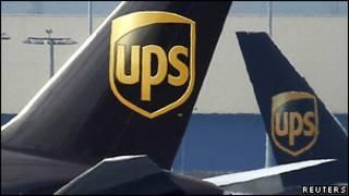 Cамолеты компании UPS