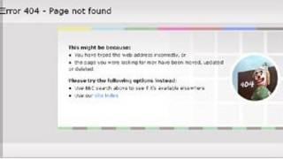 Проблемы с сайтом Би-би-си