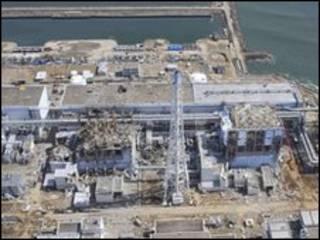 نیروگاه آسیب دیده فوکوشیما