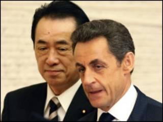 法國和日本領導人