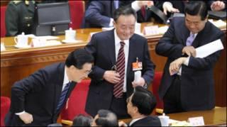 Lãnh đạo Trung Quốc: Hồ Cẩm Đào, Tăng Khánh Hồng và Giả Khánh Lâm