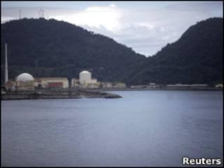 Complexo nuclear em Angra dos Reis