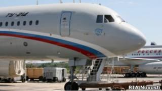 Самолет Дмитрия Медведева