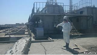 """Трещина на АЭС """"Фукусима-1"""""""