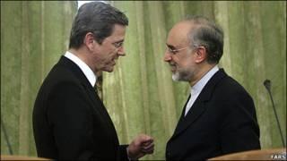 وزاری امور خارجه ایران و آلمان