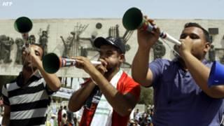 في ساحة التحرير
