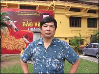 Ông Cù Huy Hà Vũ, ảnh trên trang của Human Rights Watch