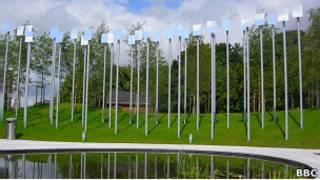 Мемориал жертв взрыва в Ома