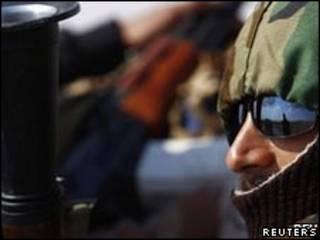 Rebelde líbio