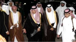 وزراء خارجية مجلس التعاون الخليجي (03/04/11)