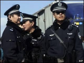 د چین پولیس