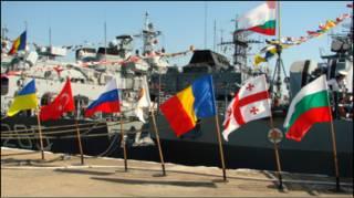Кораблі країн-учасниць BLACKSEAFOR