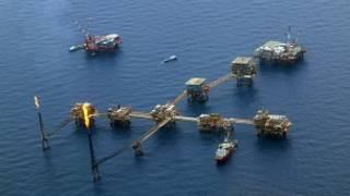 Нефтяная платформа Pemex