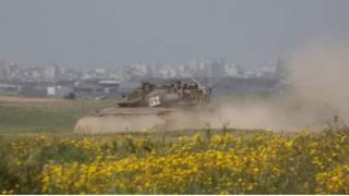 الحدود بين غزة واسرائيل