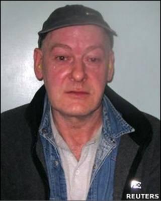 O assassino condenado John Sweeney