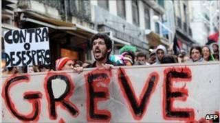 Người biểu tình Bồ Đào Nha