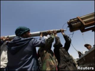 'Yan tawayen kasar Libya