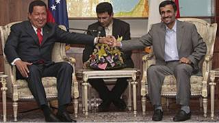 چاوز و احمدی نژاد