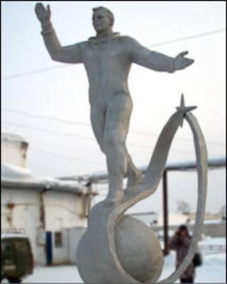 尤里·加加林的雕像