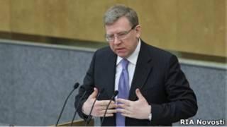 Алексей Кудрин на трибуне Думы