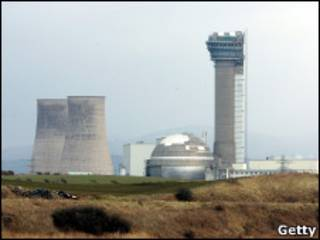 As instalações da usina nuclear de Sellafield, no norte da Inglaterra (Foto: Getty Images)