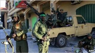 نیروهای وفادار به قذافی در مصراته، 28 مارس