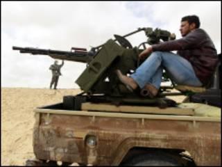 'Yan tawayen Libiya