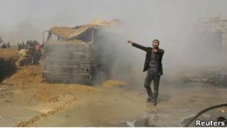 انفجار در جنوب نوار غزه