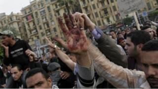 اعتراض های تازه در میدان تحریر قاهره، نهم آوریل