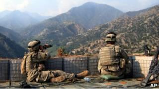 سربازان آمریکایی در کنر