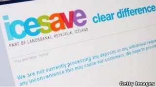 Логотип Icesave