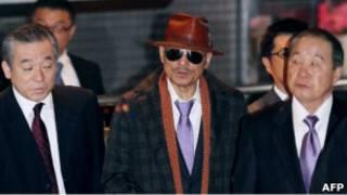 Босс якудзы Кенити Синода