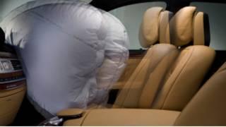 کیسه هوا در داخل خودرو
