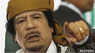 Kolonel Muammar Gaddafi