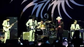 Bob Dylan biểu diễn tại TP Hồ Chí Minh