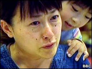 Keiko Niinumba và con