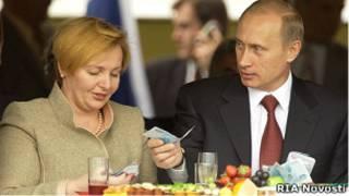 Владимир Путин с супругой Людмилой (архивное фото)