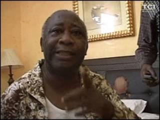 Tsohon shugaba Laurent Gbagbo