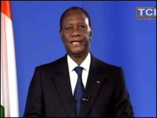 Shugaban Cote D'Ivoire Allasane Ouattara