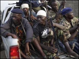 Sojoji masu biyayya ga Alassane Ouattara