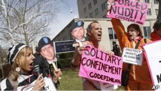 Protesta en Washington
