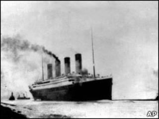 泰坦尼克1919年4月首航