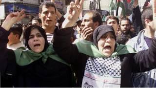 Suriyeli göstericiler