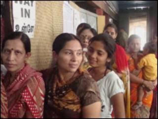 चेन्नई मतदान केंद्र