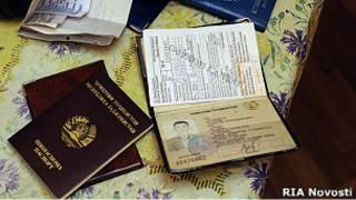 Паспорта нелегальных мигрантов