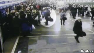Метро Минска - кадр камеры видеонаблюдения