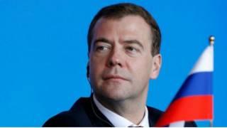Президент РФ Д.Медведев. Фото пресс-службы президента.