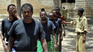 Perompak Somalia yang ditangkap di Somaliland